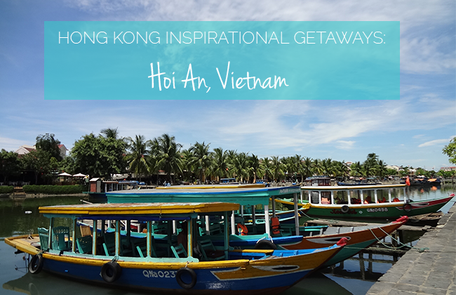 Hoi An Getaway: Boats in ancient town