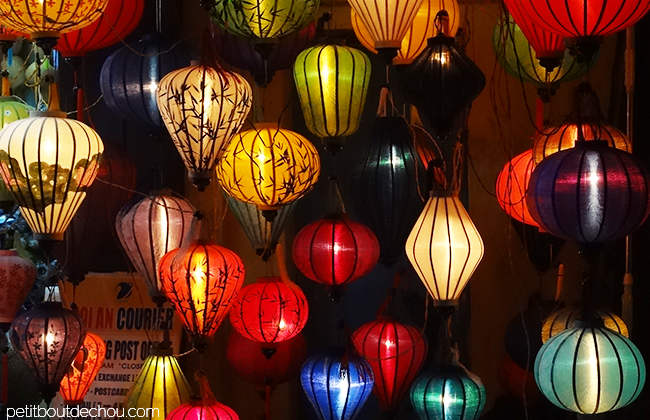 Hoi An Getaway: wooden lanterns at night