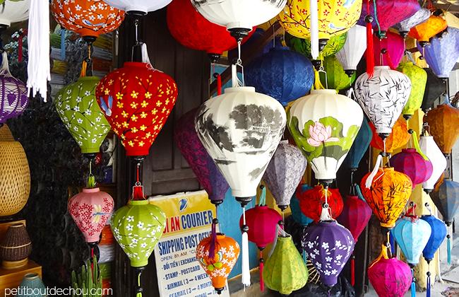 Hoi An Getaway: wooden lanterns