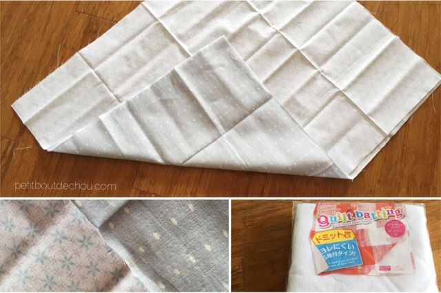 korean cotton baby changing mat and quilt batting