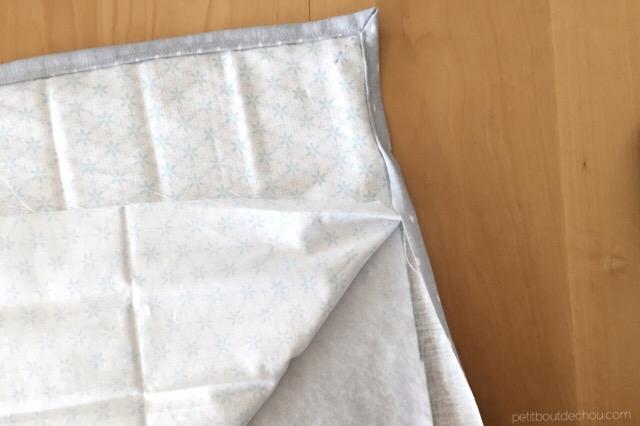 install quilt batting to form mat