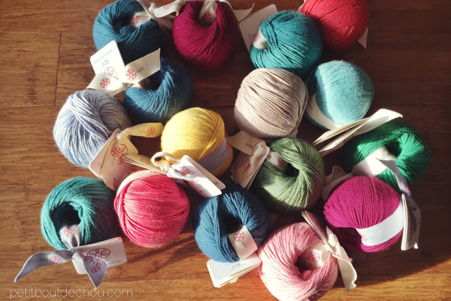 Cotton and merinos blend yarn from kpc