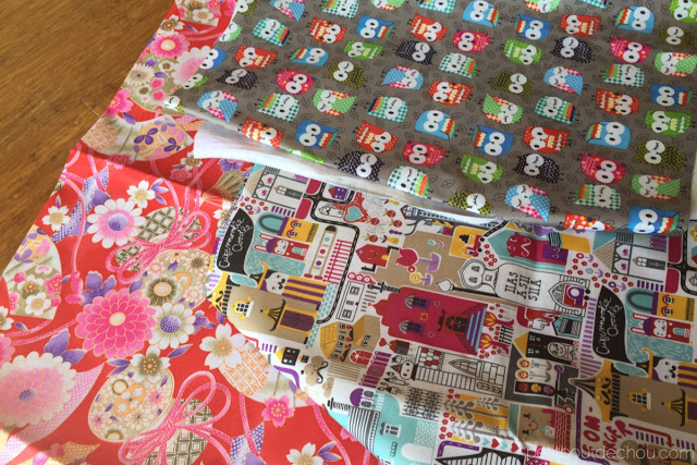 laminated fabric with cute prints from sham shui po