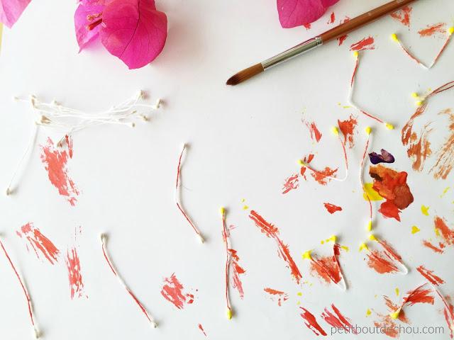 plum blossom stamen painting 2