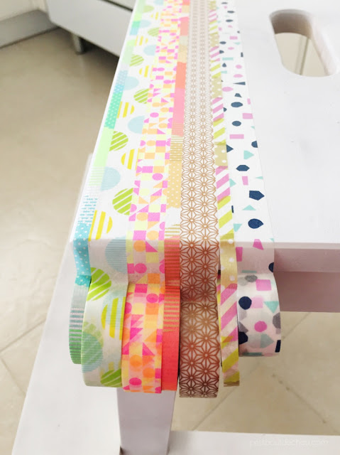 washi tape ikea hack step stool