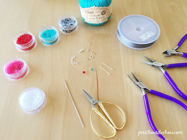 Watermelon bangles bracelet DIY supplies