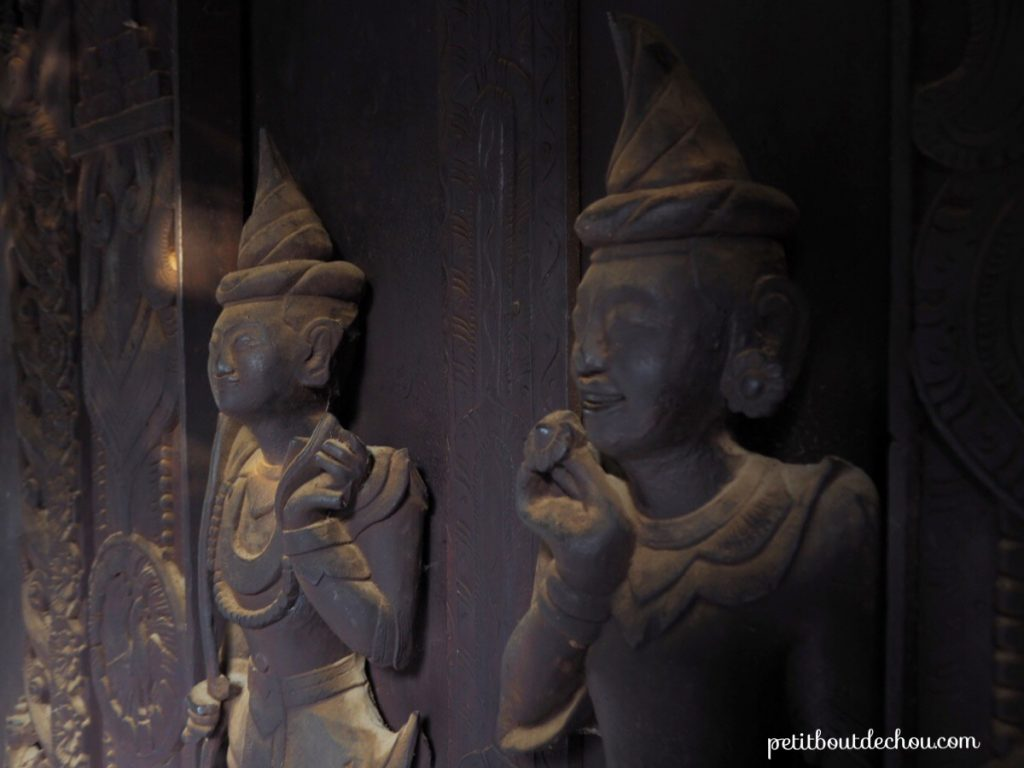 Wood carving, Mandalay