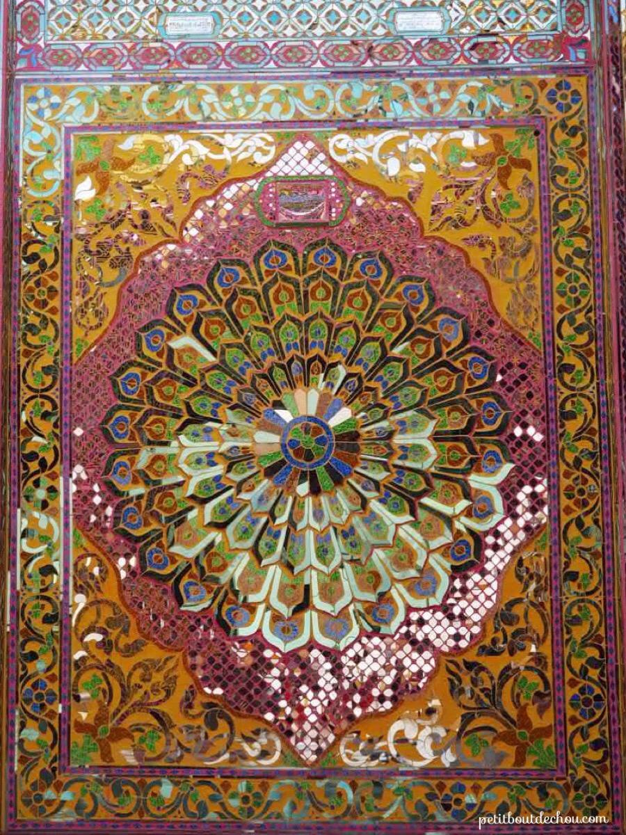 Paya Kyauktawgyi mosaic