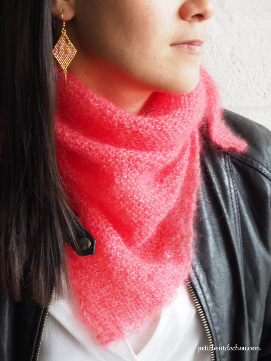 The perfect mini trendy shawl