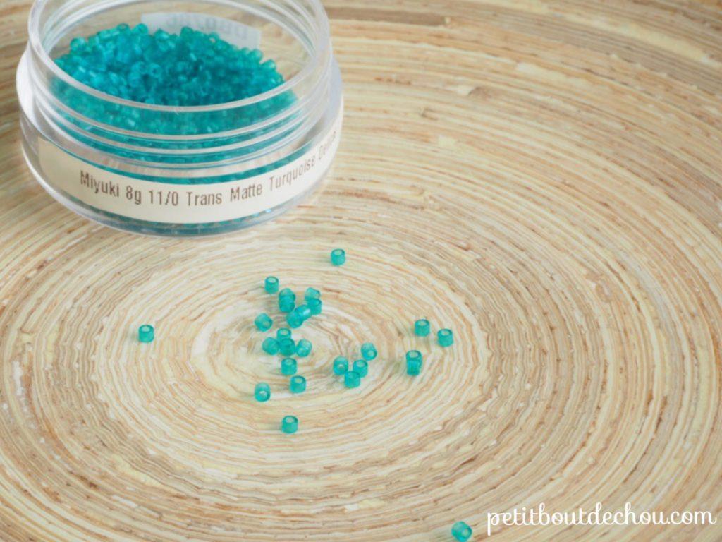 DB0786 Tranparent matte turquoise