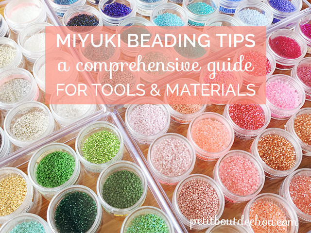 Miyuki beading tips: a comprehensive guide for tools and materials