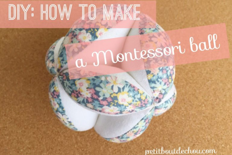 DIY How to make a Montessori ball