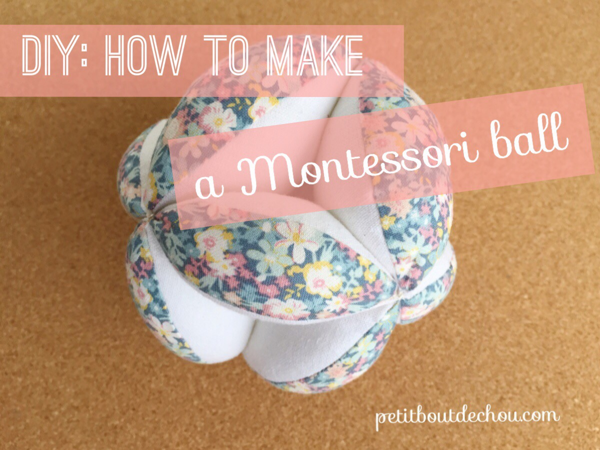 DIY Montessori Ball