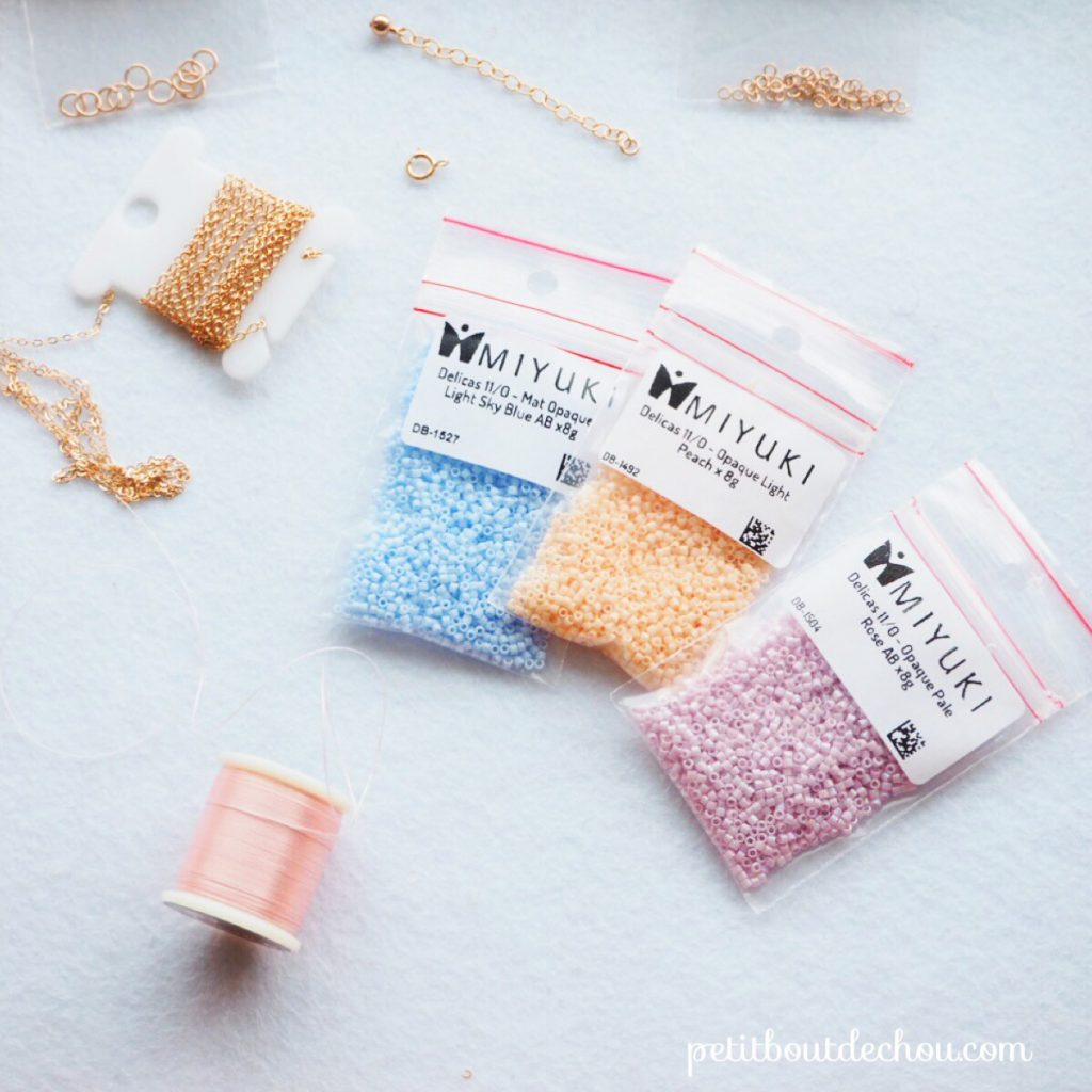 Supplies needed miyuki beading