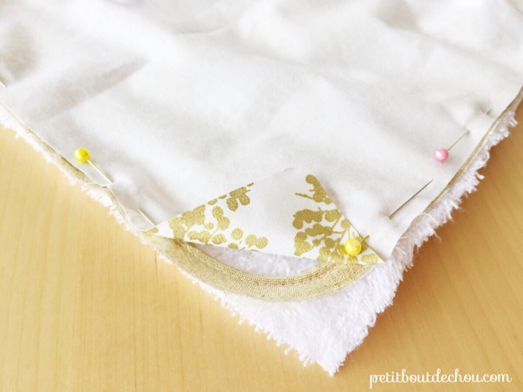 pin cotton and sponge fabric