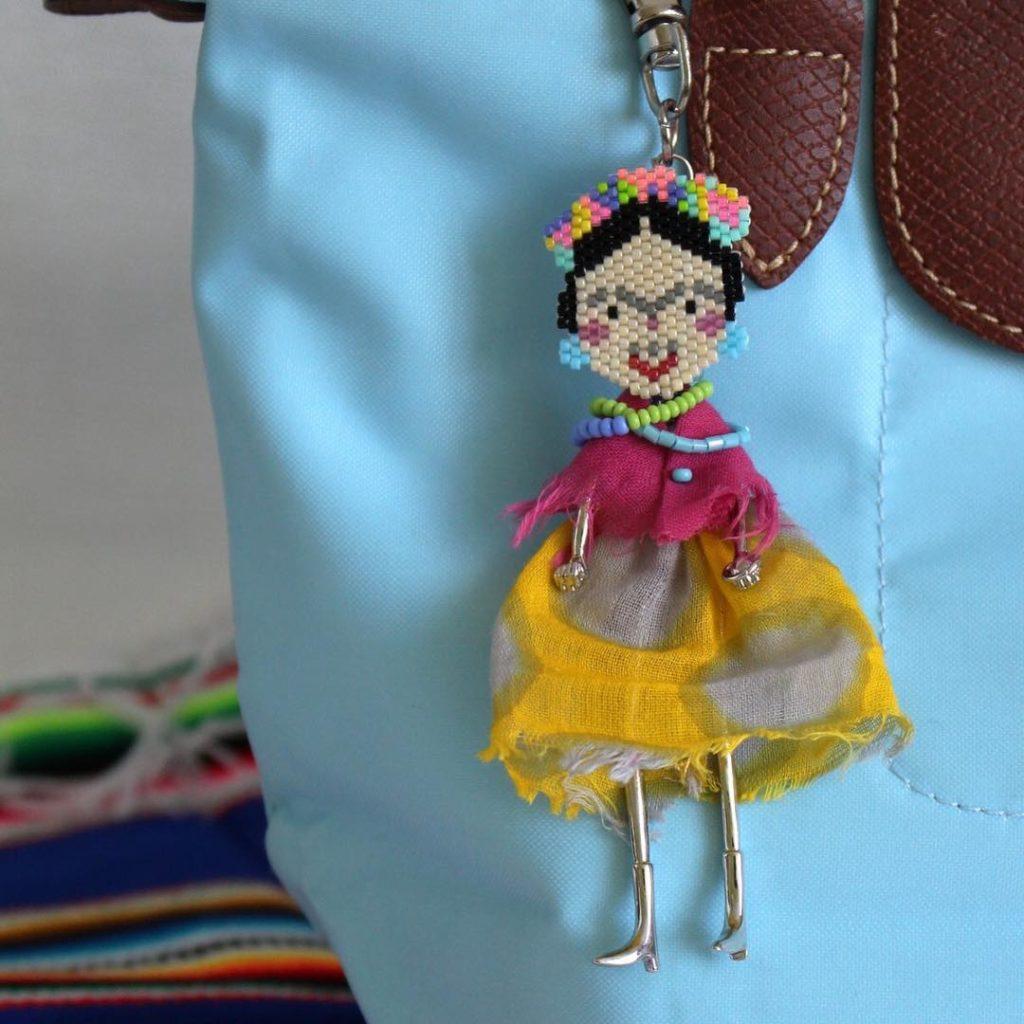 Frida bijoux sac Miyuki