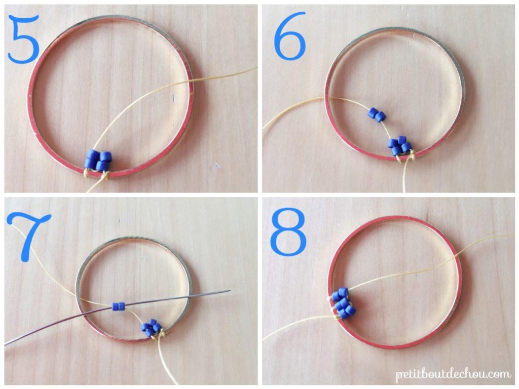 ombre circles miyuki 3