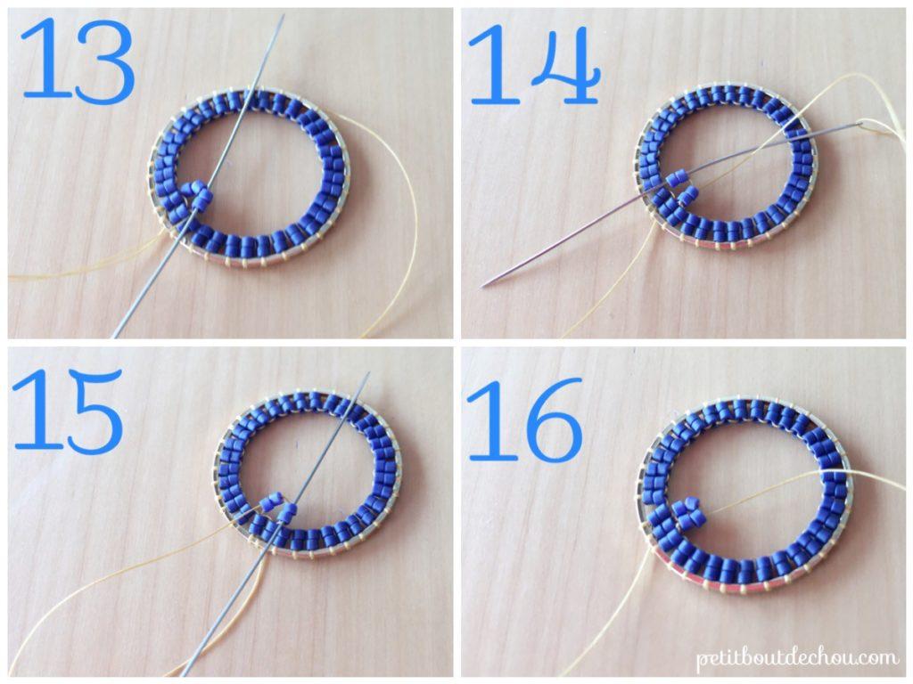 ombre circles miyuki 5