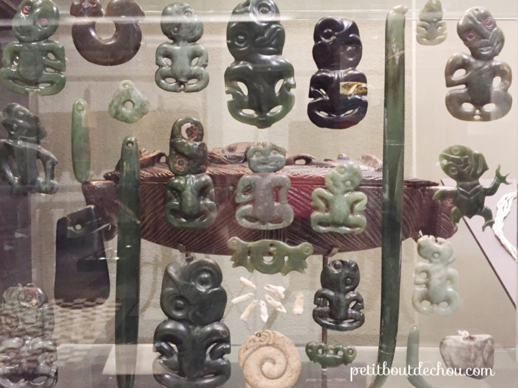 Mauri Tiki made with jade