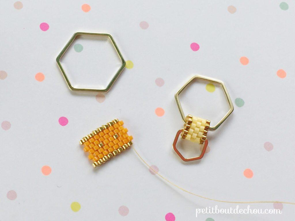 tuto miyuki sautoir hexagones et tubes peyote petit bout de chou. Black Bedroom Furniture Sets. Home Design Ideas