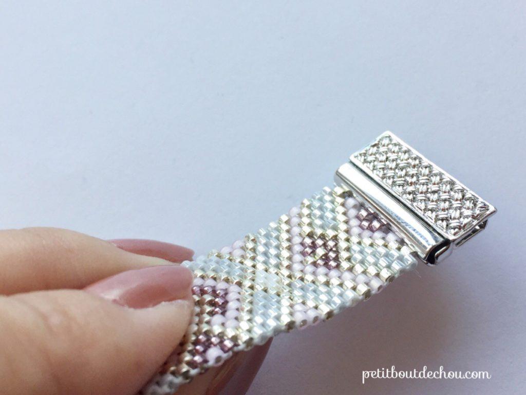 bracelet peyote impair 3
