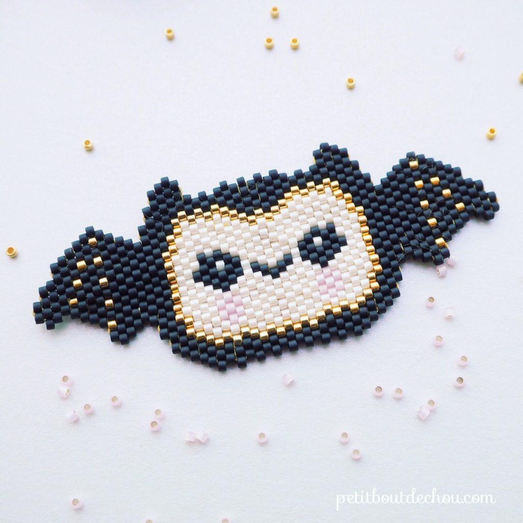 miyuki halloween chauve-souris kawai 2
