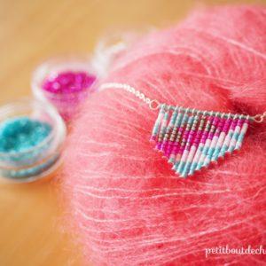 Pendant necklace Miyuki delica