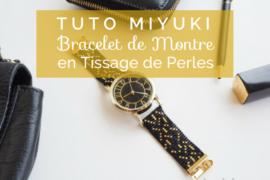 bracelet montre miyuki