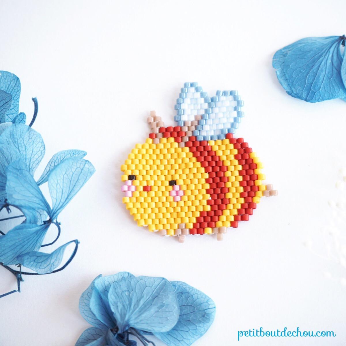petite abeille printemps miyuki brick stitch