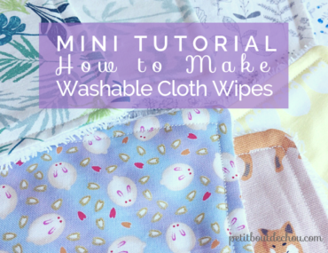 washable cloth wipes