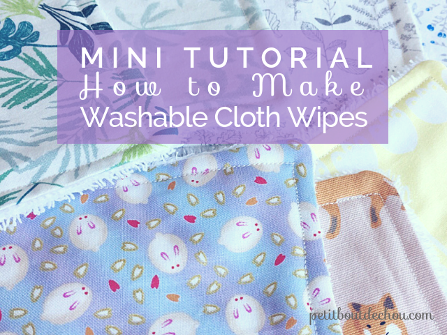 washable cloth wipes
