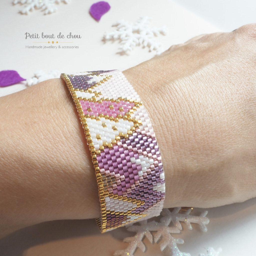 bracelet sapins porté