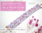 sakura bracelet pattern
